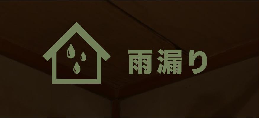 雨漏り対応